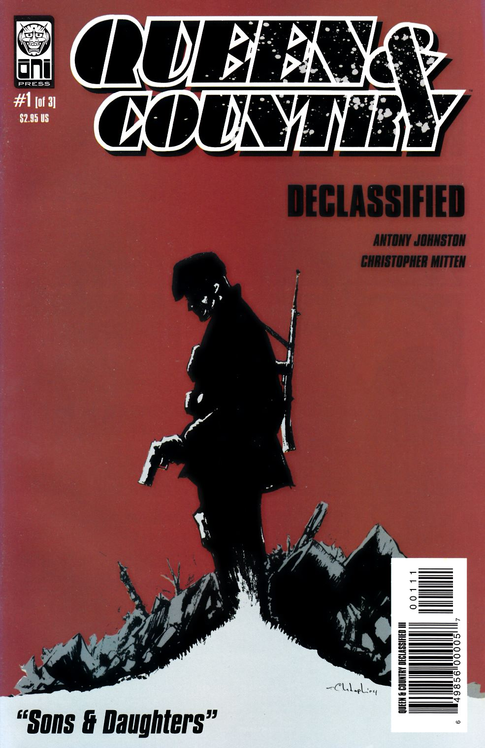 Queen & Country Declassified Volume 3 #1 [Oni Press Comic] THUMBNAIL