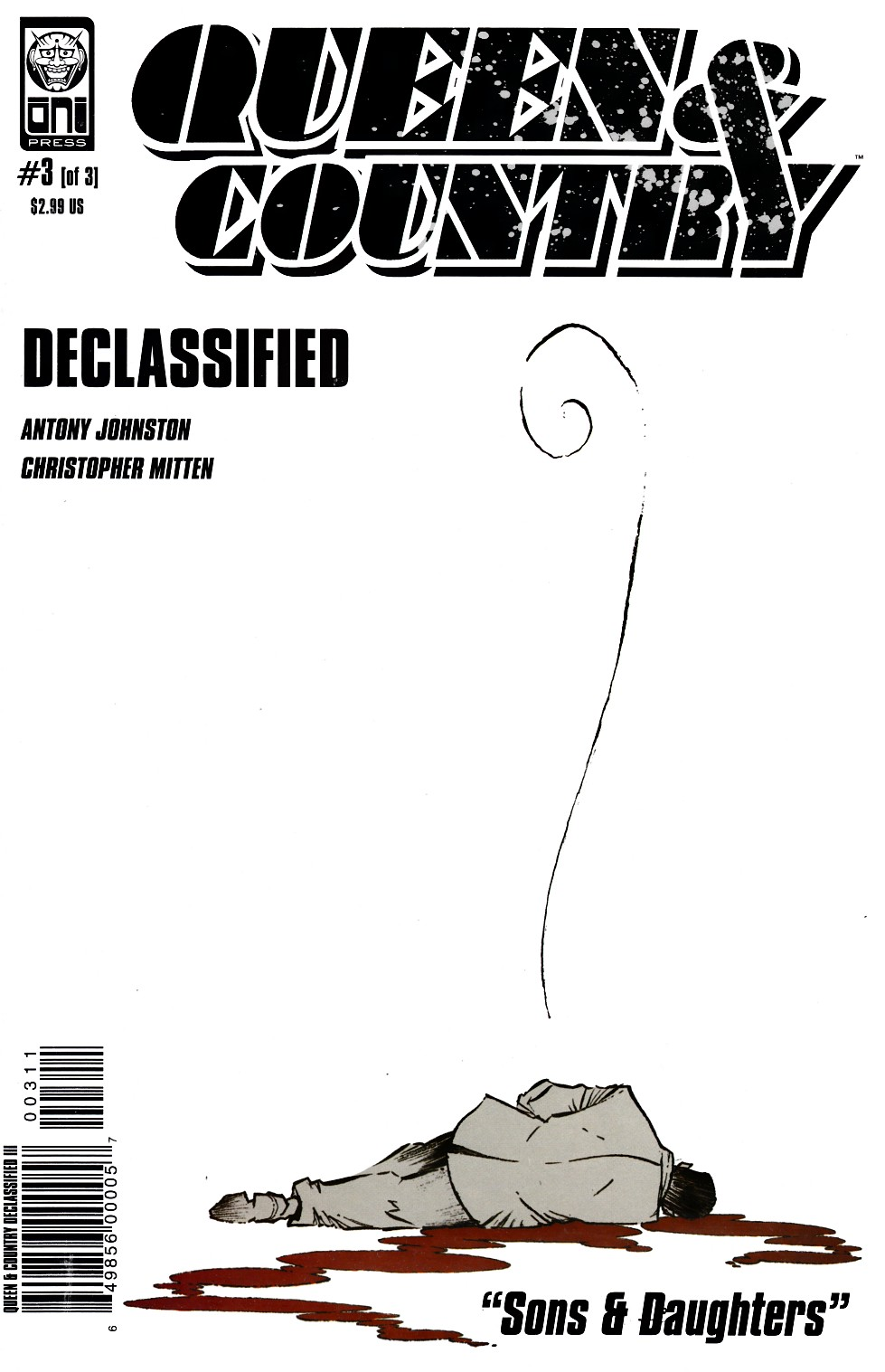Queen & Country Declassified Volume 3 #3 [Oni Press Comic] THUMBNAIL