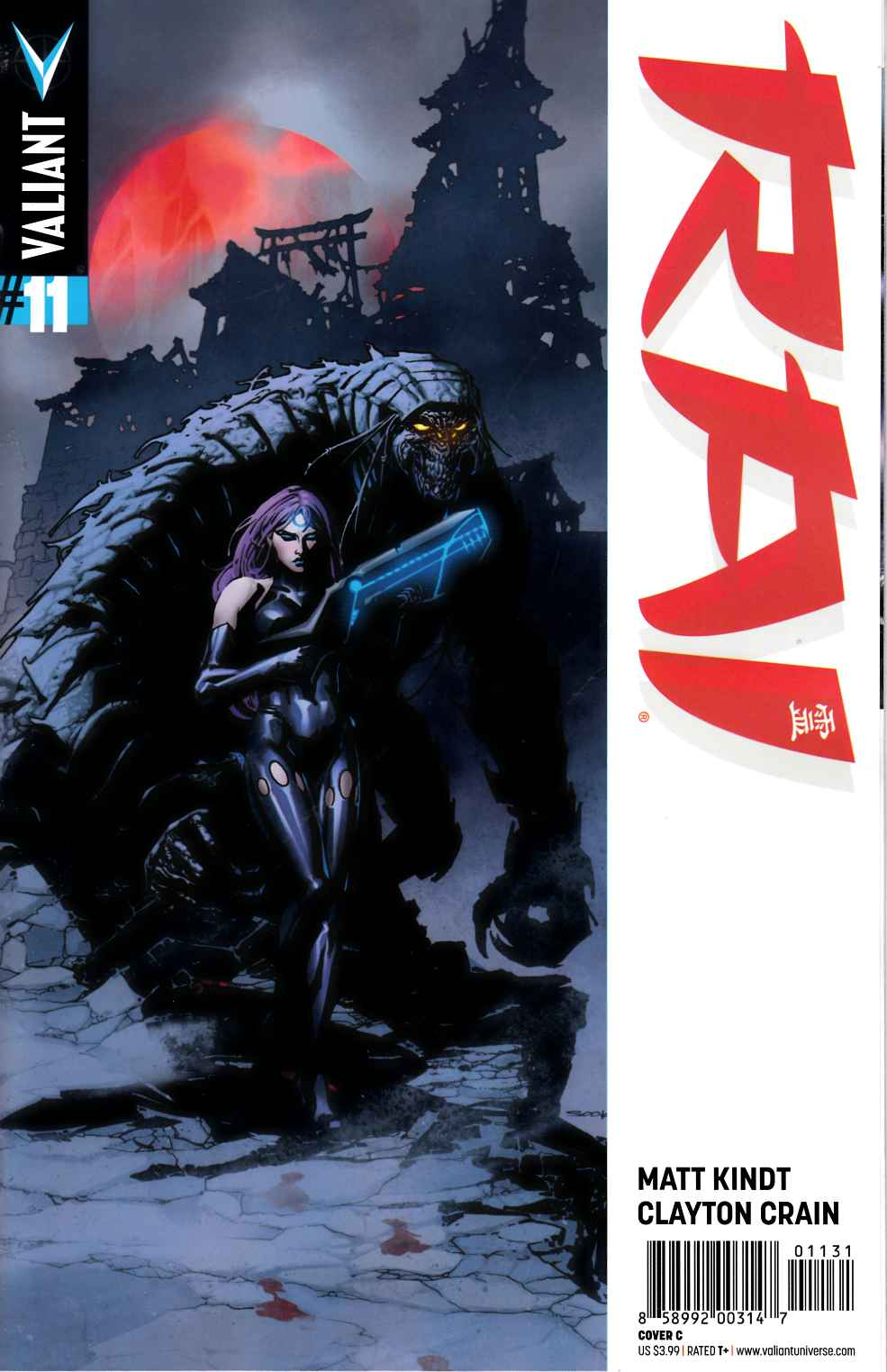 Rai #11 Cover C- Sook [Valiant Comic] THUMBNAIL