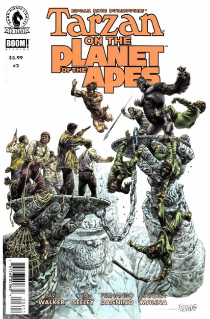 Tarzan on the Planet of the Apes #2 [Dark Horse Comic] THUMBNAIL