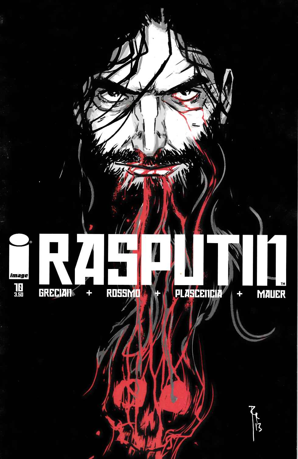 Rasputin #10 [Image Comic] LARGE