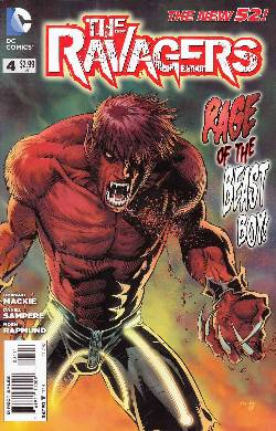 Ravagers #4 [DC Comic] LARGE