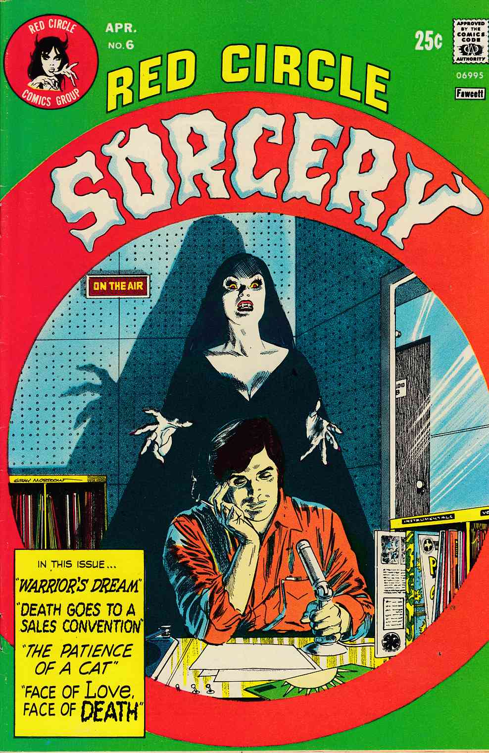 Red Circle Sorcery #6 Very Fine (8.0) [Archie Comic] THUMBNAIL