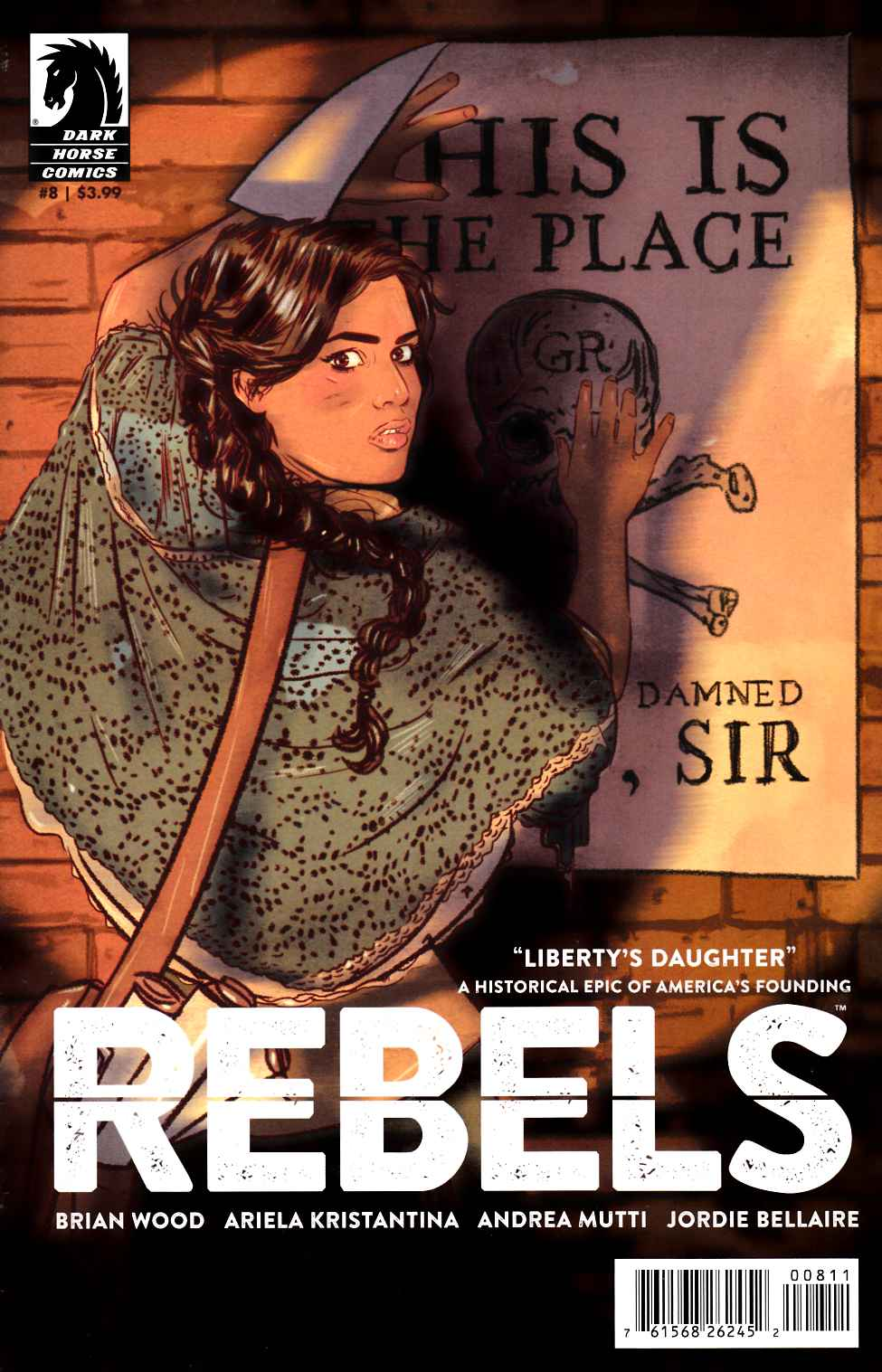 Rebels #8 [Dark Horse Comic]