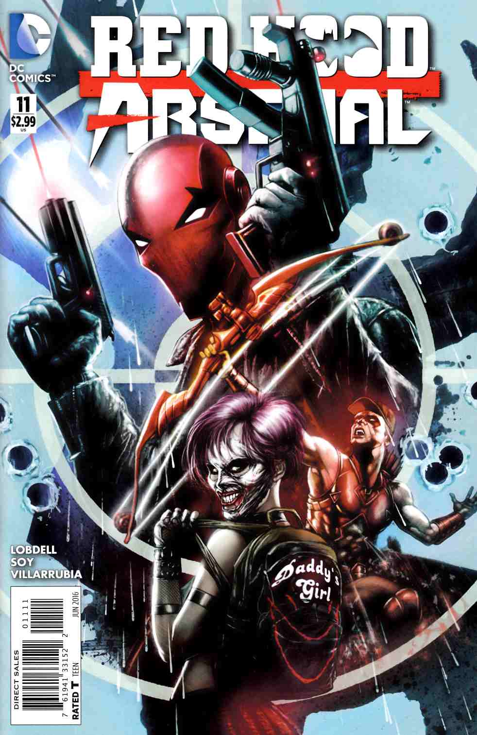 Red Hood Arsenal #11 [DC Comic] THUMBNAIL