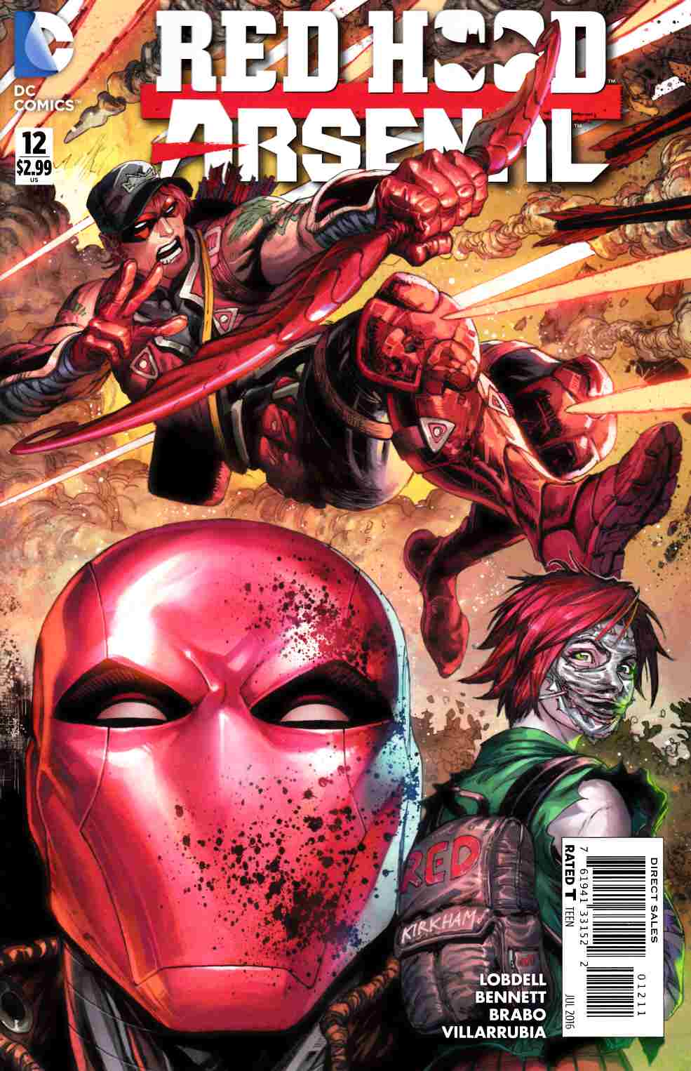 Red Hood Arsenal #12 [DC Comic] LARGE