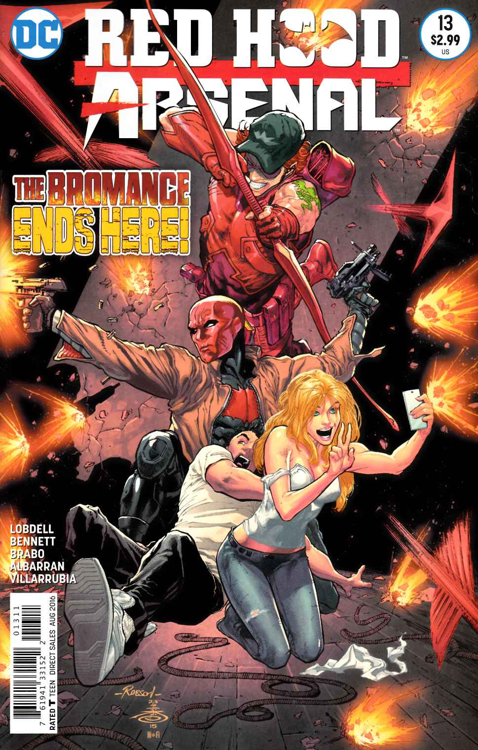 Red Hood Arsenal #13 [DC Comic] THUMBNAIL