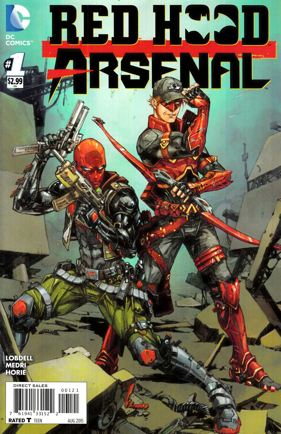 Red Hood Arsenal #1 Rocafort Variant Cover [DC Comic]_THUMBNAIL
