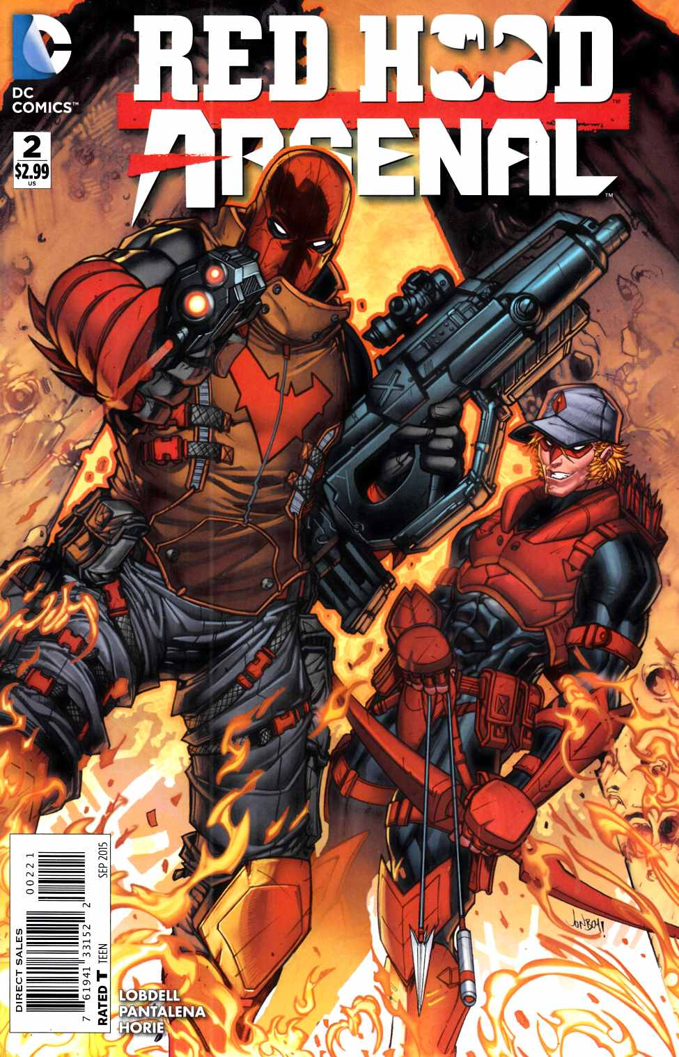 Red Hood Arsenal #2 Meyers Variant Cover [DC Comic]_LARGE