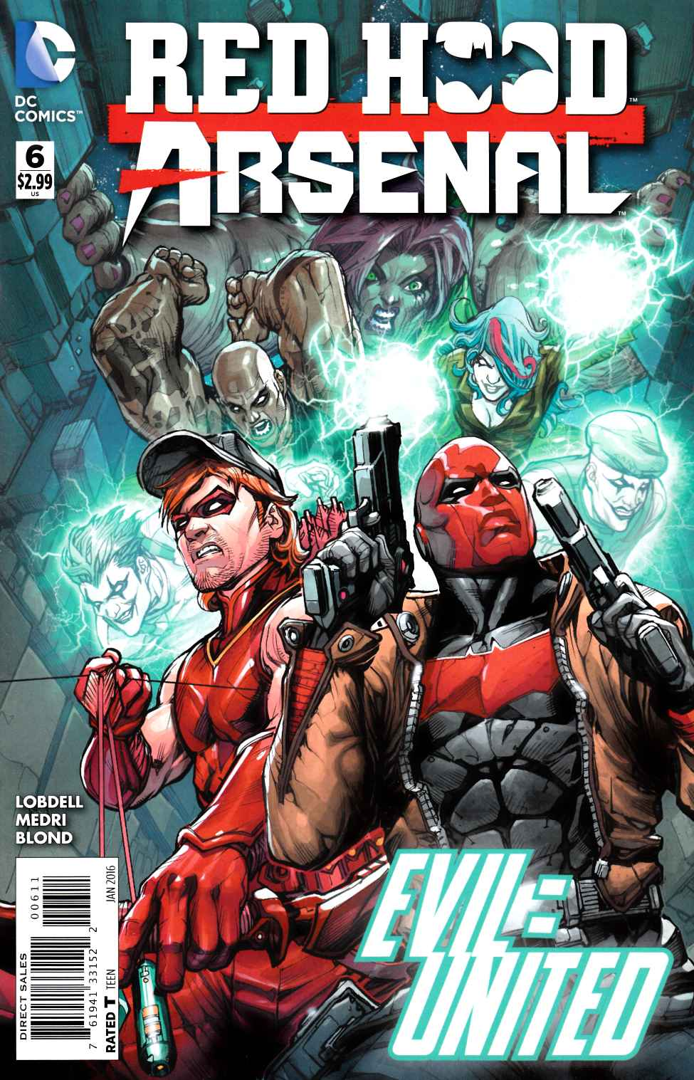 Red Hood Arsenal #6 [DC Comic]