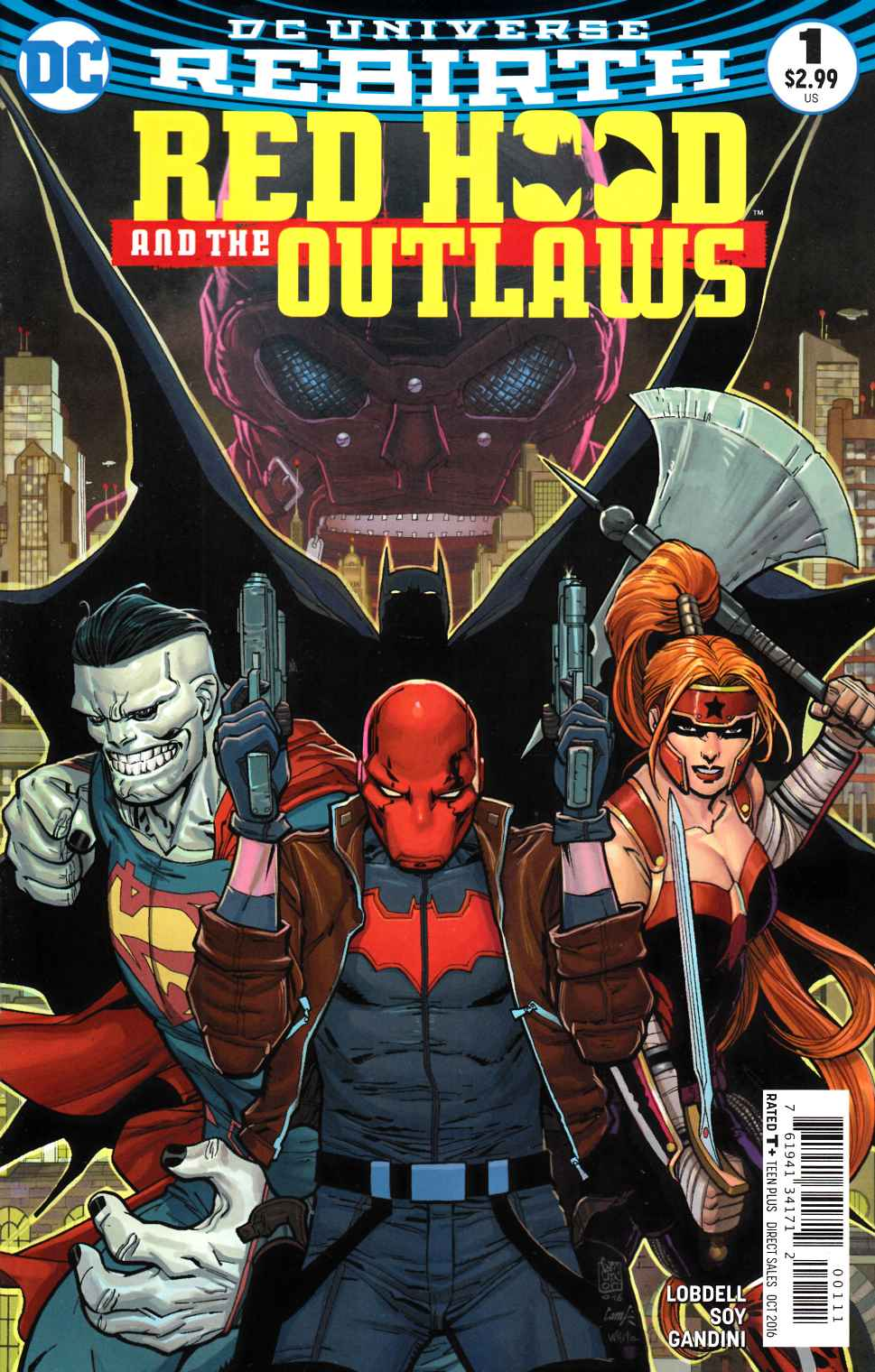 Red Hood and the Outlaws #1 [DC Comic] THUMBNAIL
