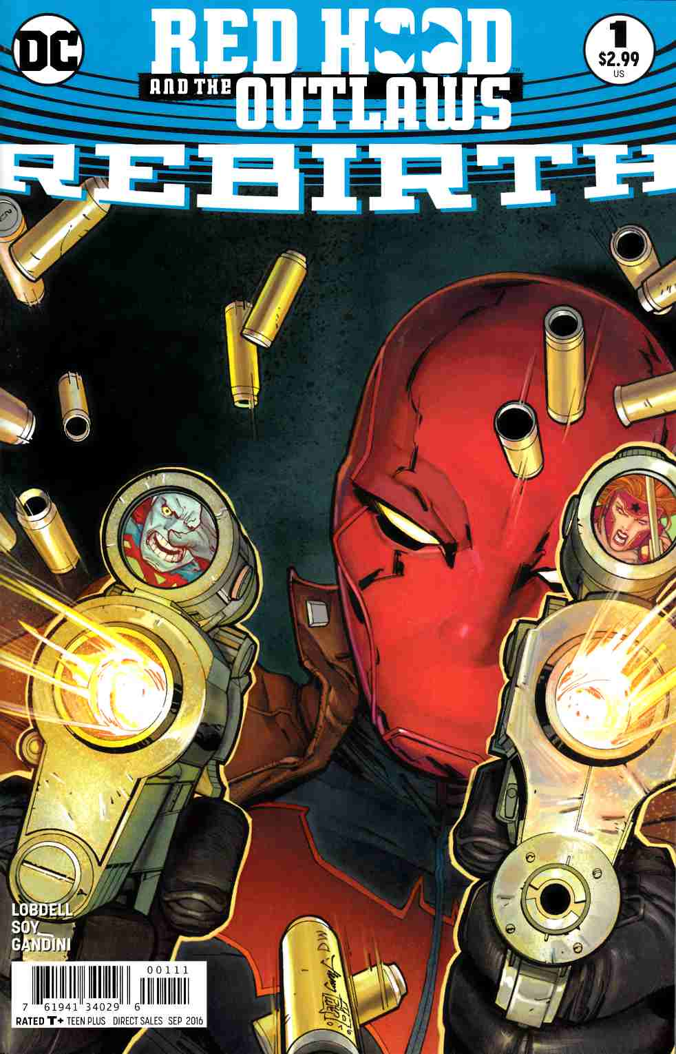 Red Hood and the Outlaws Rebirth #1 [DC Comic] LARGE