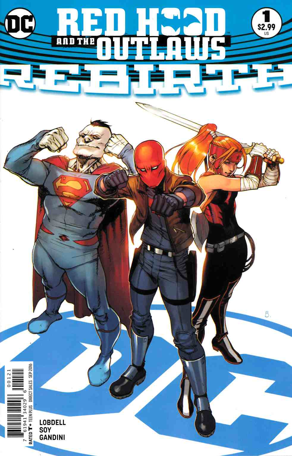 Red Hood and the Outlaws Rebirth #1 Bengal Variant Cover [DC Comic] LARGE