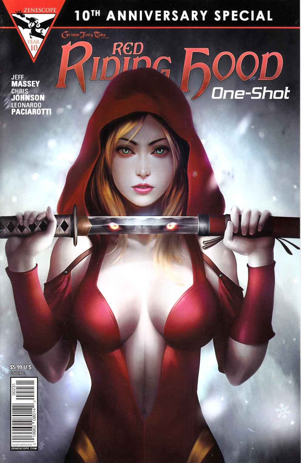 GFT Red Riding Hood 10th Anniversary Special #2 Cover C- Meguro [Zenescope Comic]_LARGE