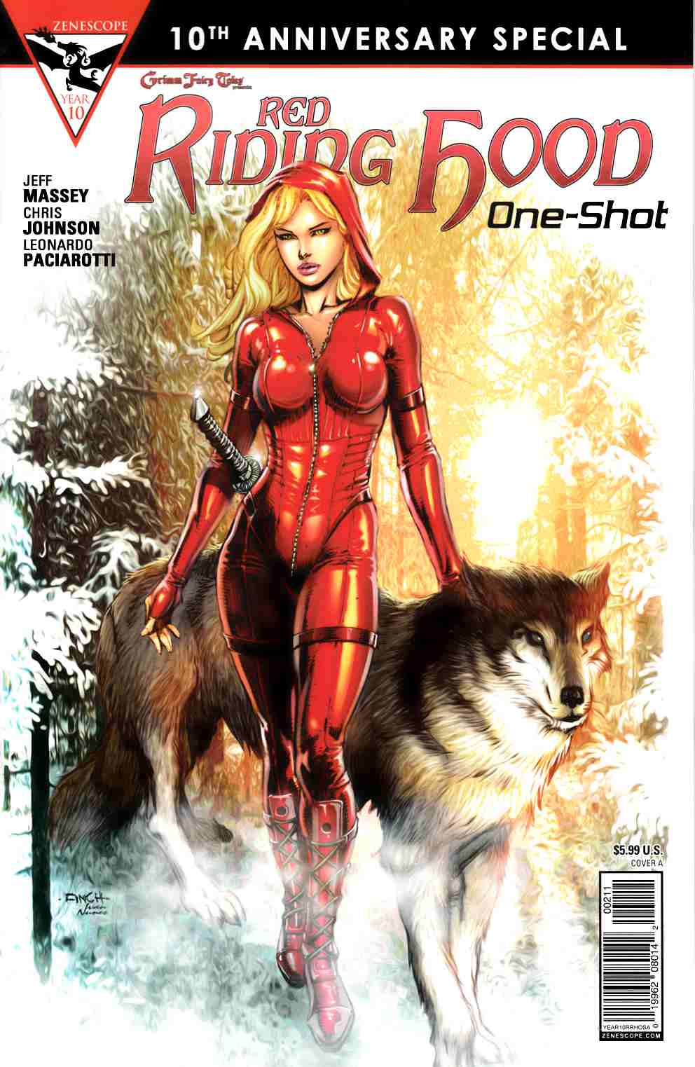 GFT Red Riding Hood 10th Anniversary Special #2 Cover A- Finch [Zenescope Comic]
