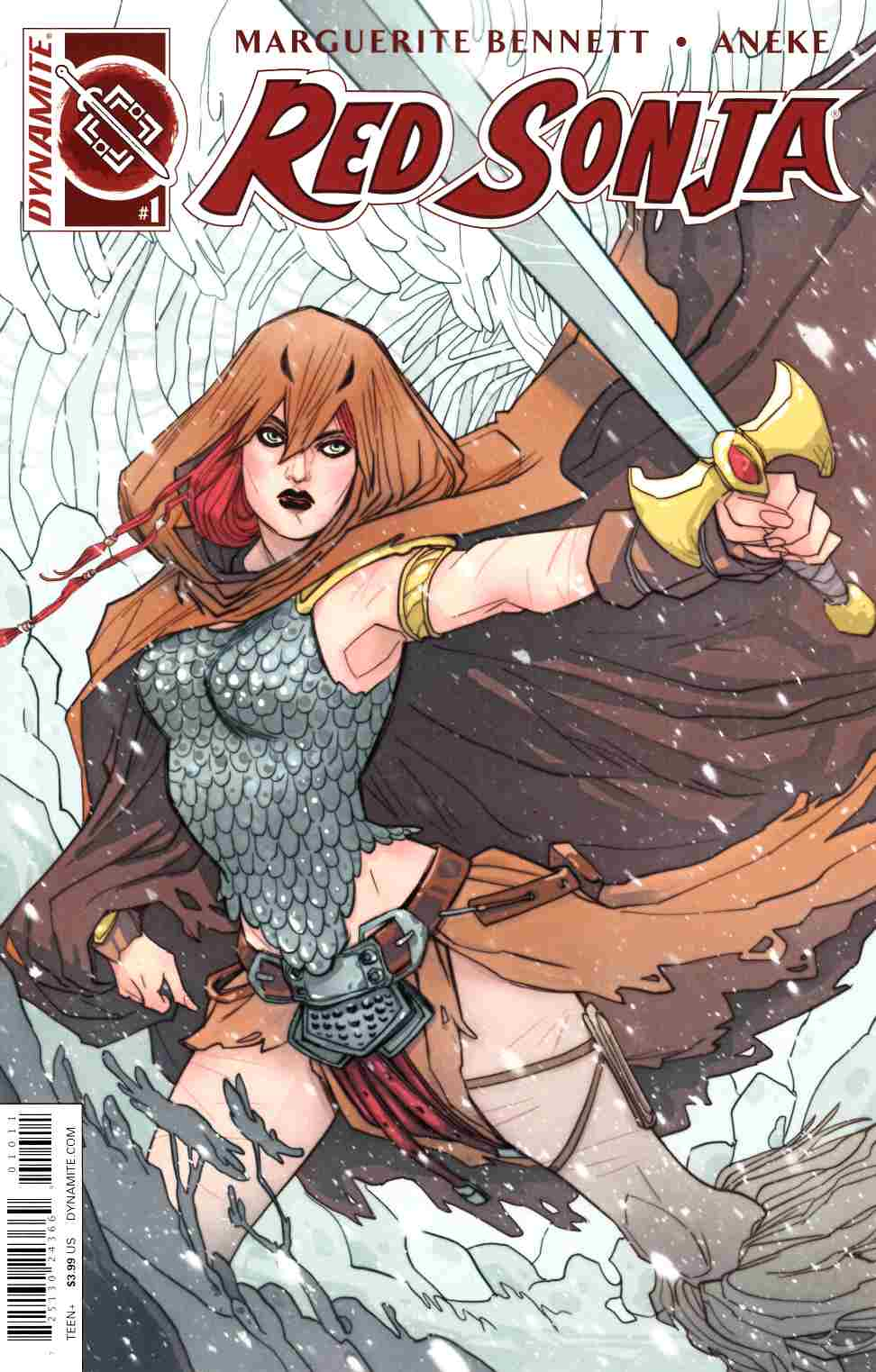 Red Sonja Volume 3 #1 Cover A- Sauvage THUMBNAIL