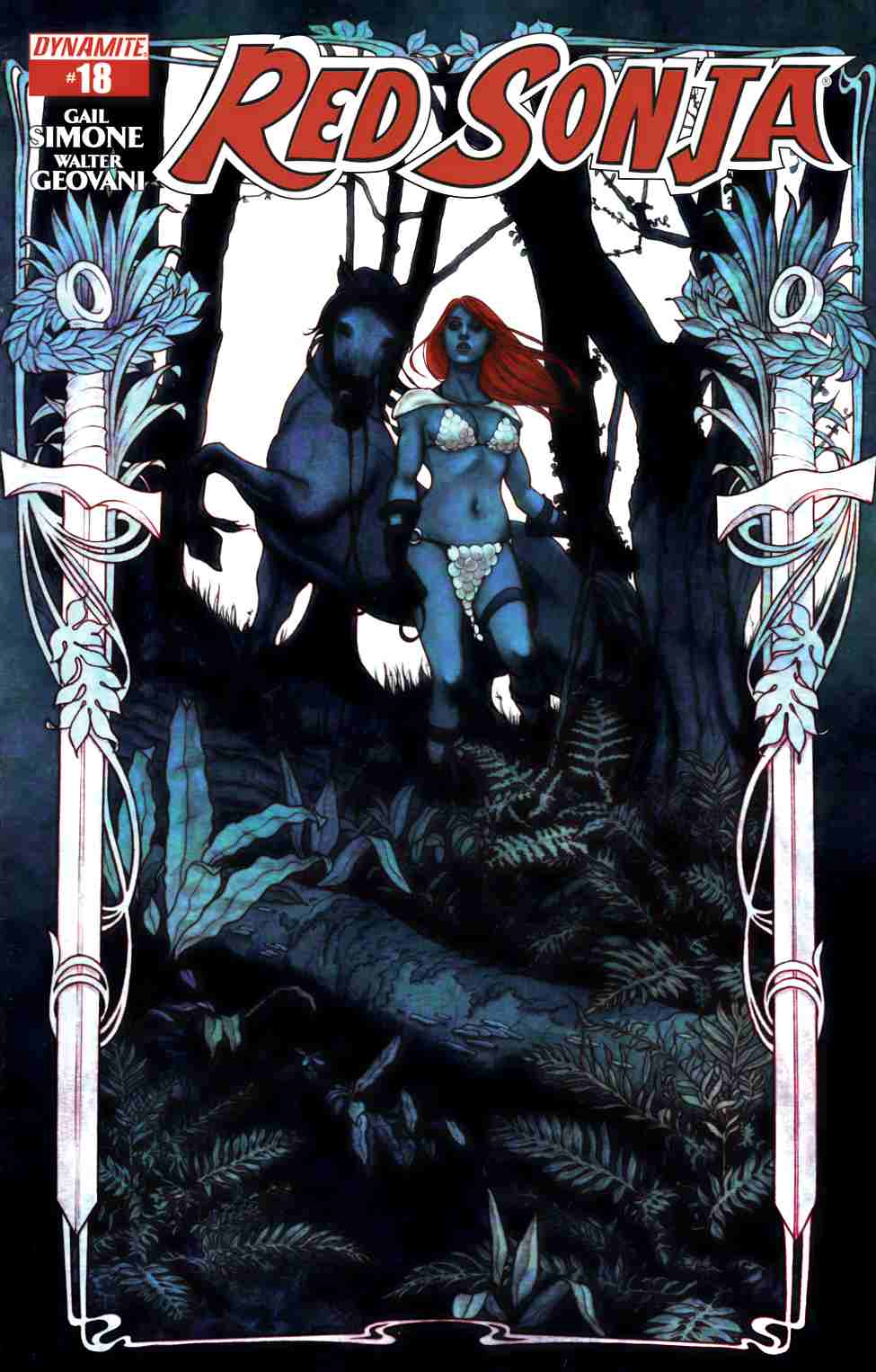 Red Sonja #18 Cover A- Frison [Dynamite Comic]_THUMBNAIL