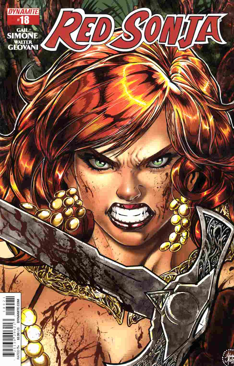 Red Sonja #18 Cover B- Melo [Dynamite Comic]_THUMBNAIL