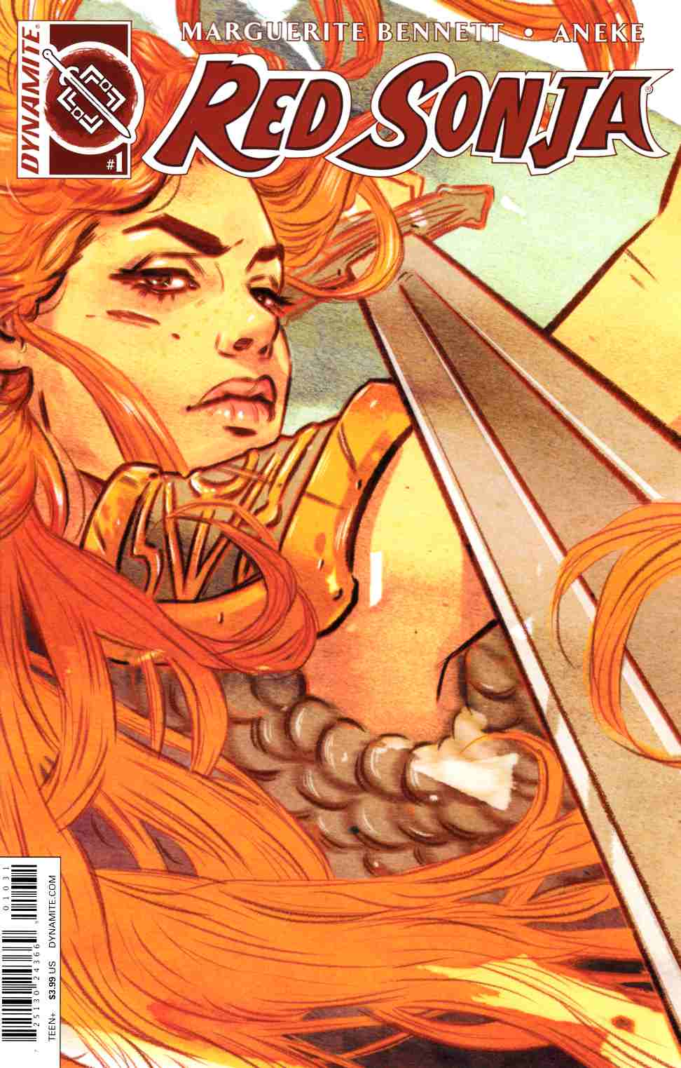 Red Sonja Volume 3 #1 Cover C- Lotay [Dynamite Comic] THUMBNAIL