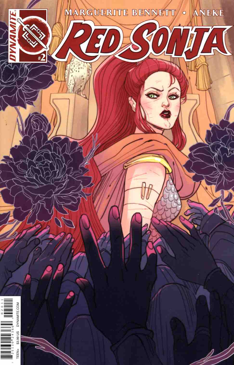 Red Sonja Volume 3 #2 Cover A- Sauvage [Dynamite Comic]_THUMBNAIL