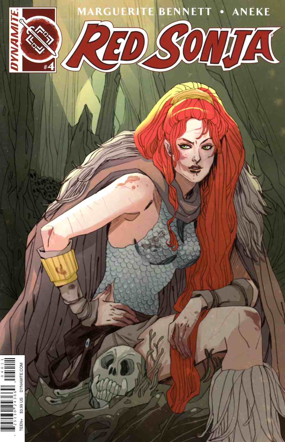 Red Sonja Volume 3 #4 [Dynamite Comic]_THUMBNAIL
