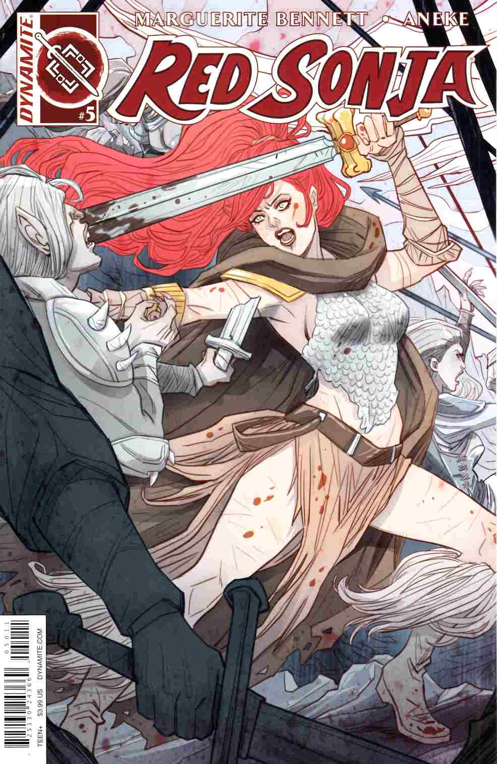 Red Sonja Volume 3 #5 Cover A [Dynamite Comic] LARGE