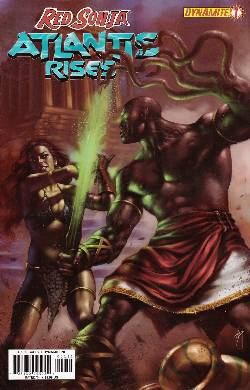 Red Sonja Atlantis Rises #1 [Dynamite Comic] LARGE