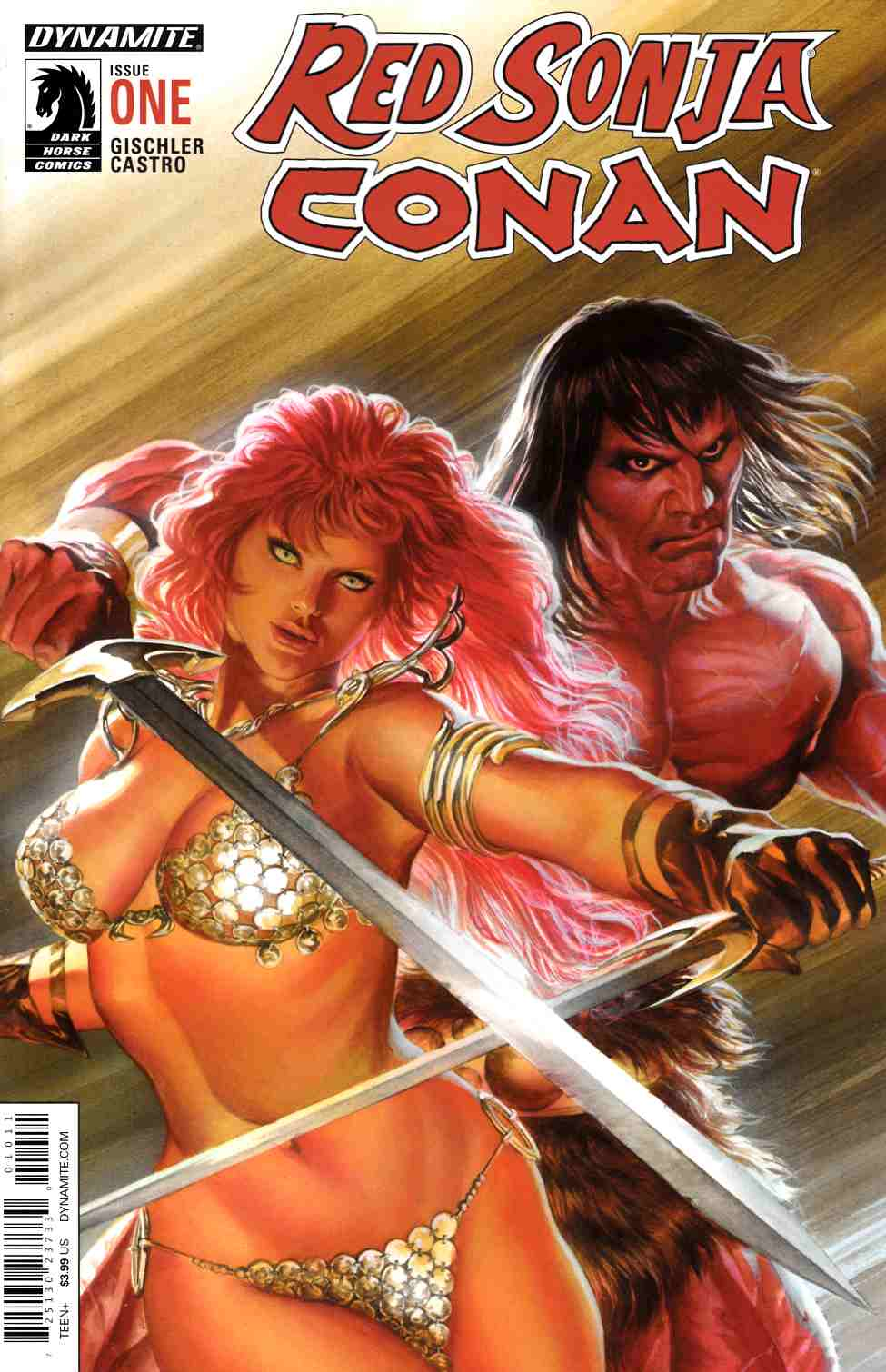 Red Sonja Conan #1 Cover A- Ross [Dynamite Comic]