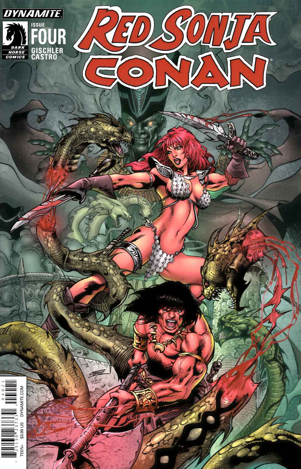 Red Sonja Conan #4 Subscription Cover [Dynamite Comic]