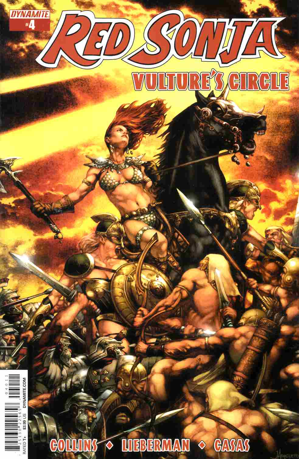 Red Sonja Vultures Circle #4 Cover A- Anacleto [Dynamite Comic]_THUMBNAIL