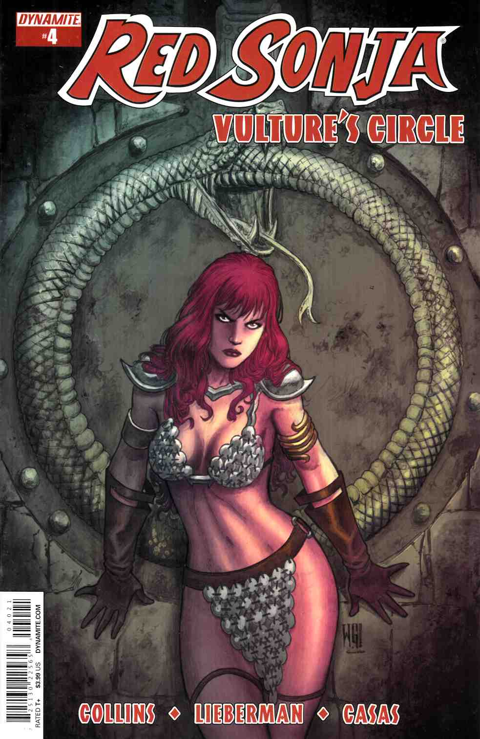 Red Sonja Vultures Circle #4 Cover B- Geovani [Dynamite Comic]_THUMBNAIL
