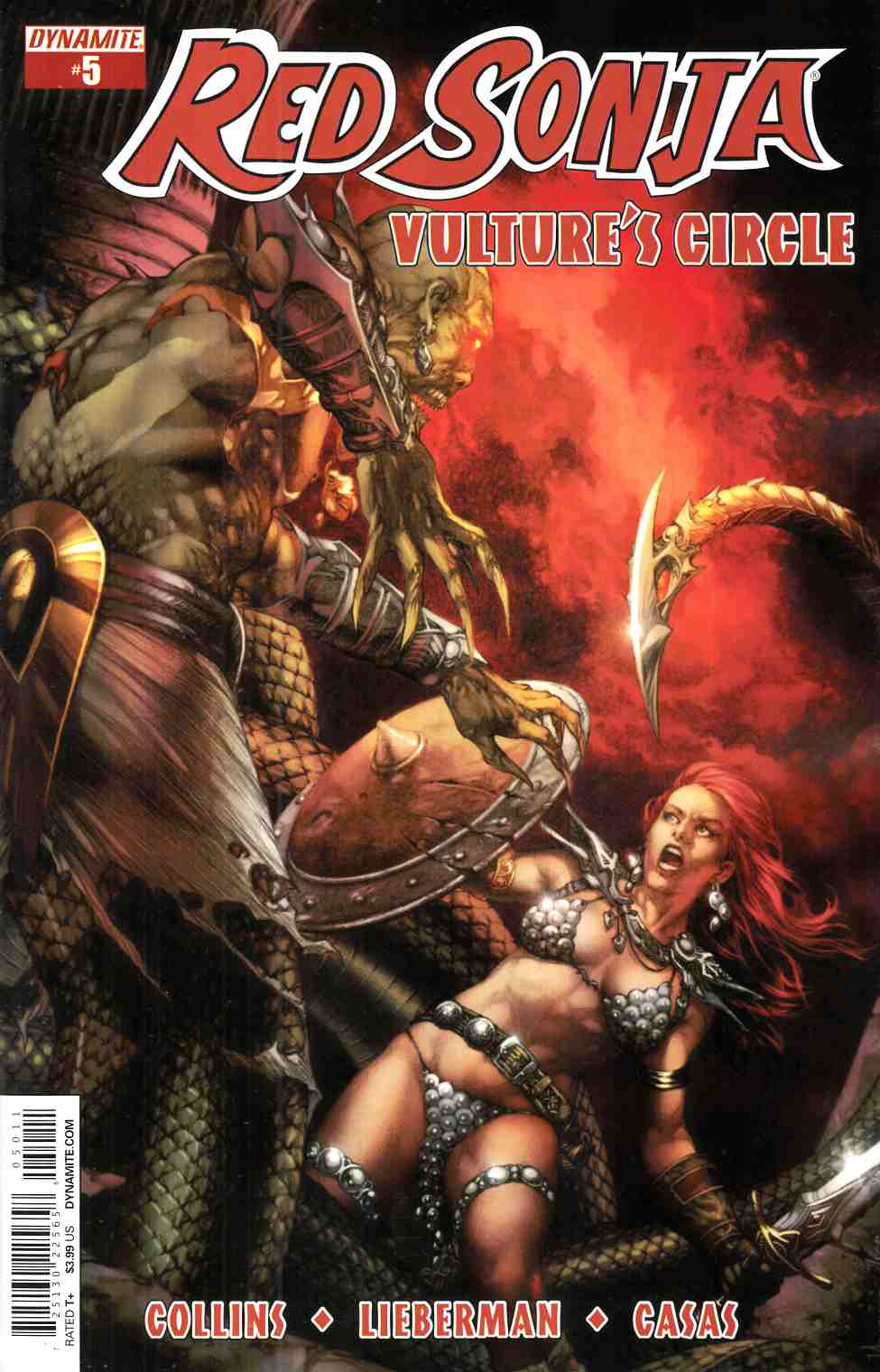 Red Sonja Vultures Circle #5 Cover A- Anacleto [Dynamite Comic]_THUMBNAIL