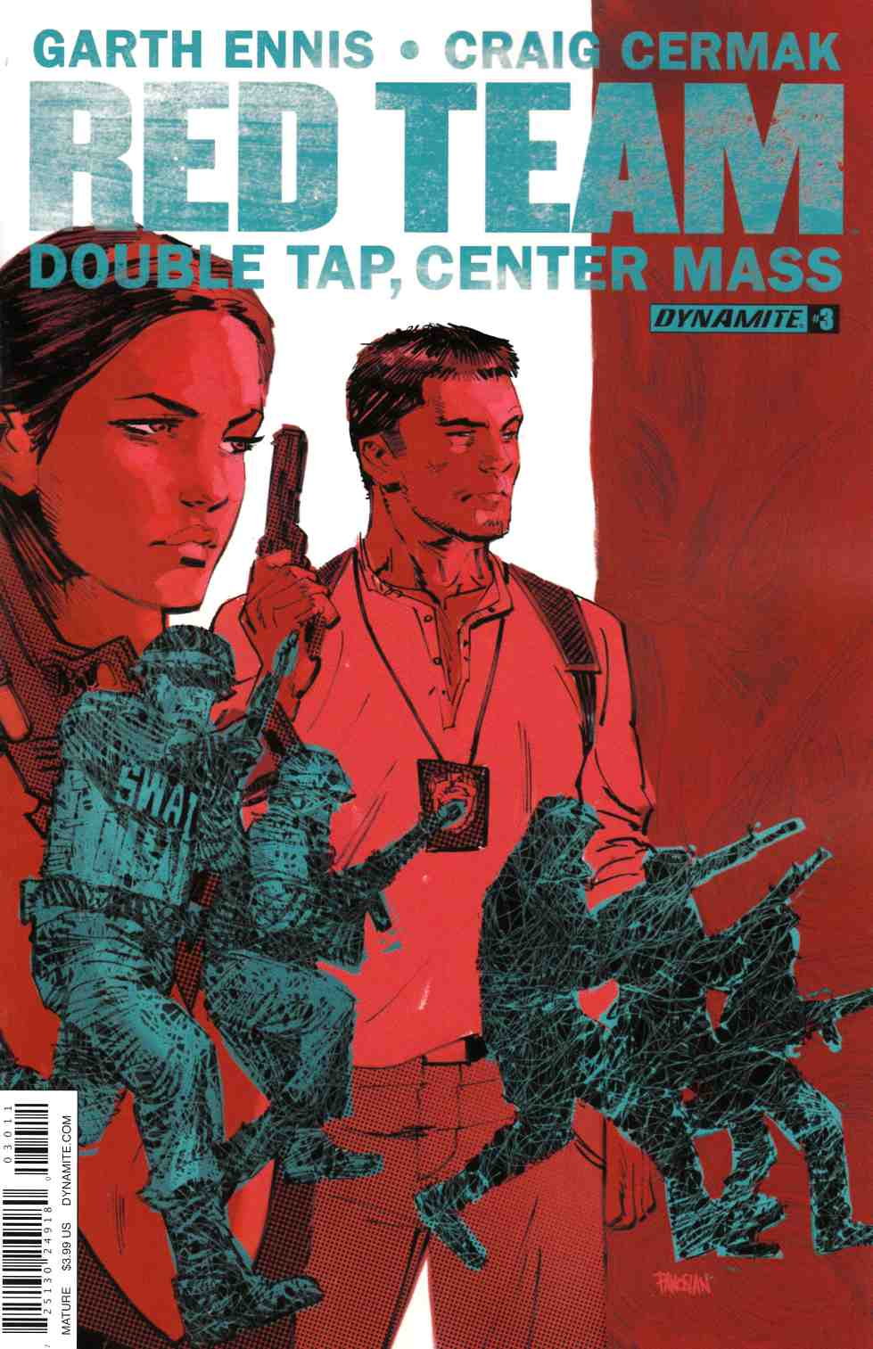 Garth Ennis Red Team Double Tap #3 [Dynamite Comic] THUMBNAIL