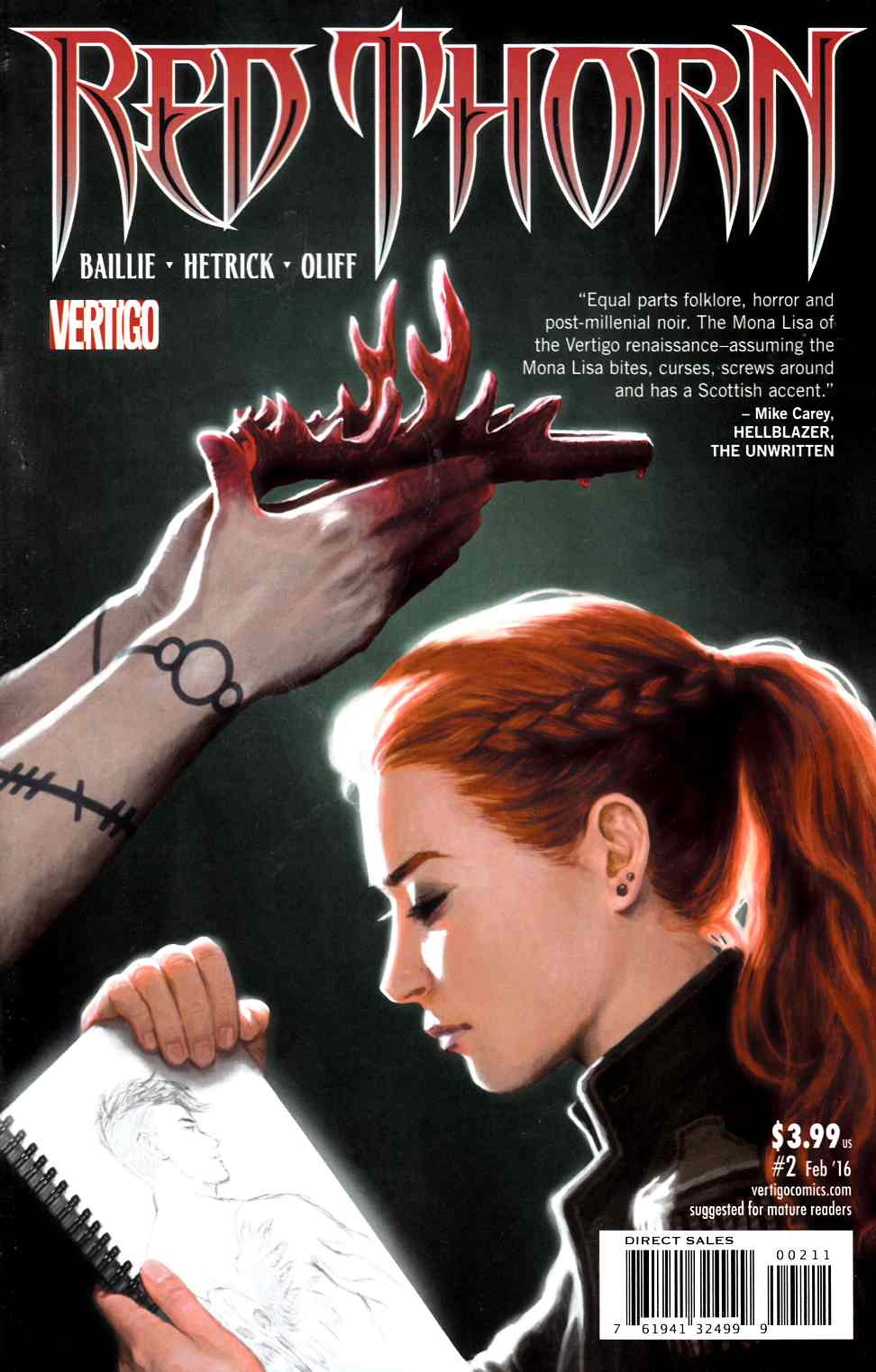 Red Thorn #2 [DC Comic] THUMBNAIL