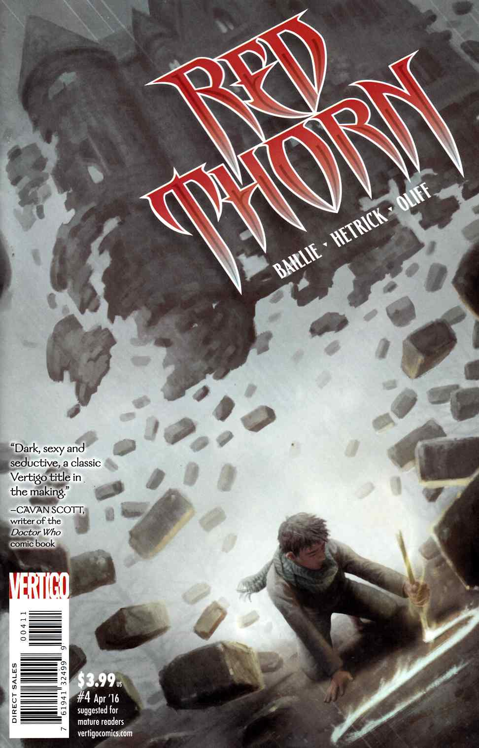 Red Thorn #4 [DC Comic] THUMBNAIL