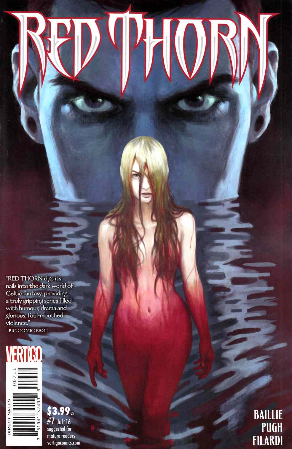 Red Thorn #7 [DC Comic] LARGE