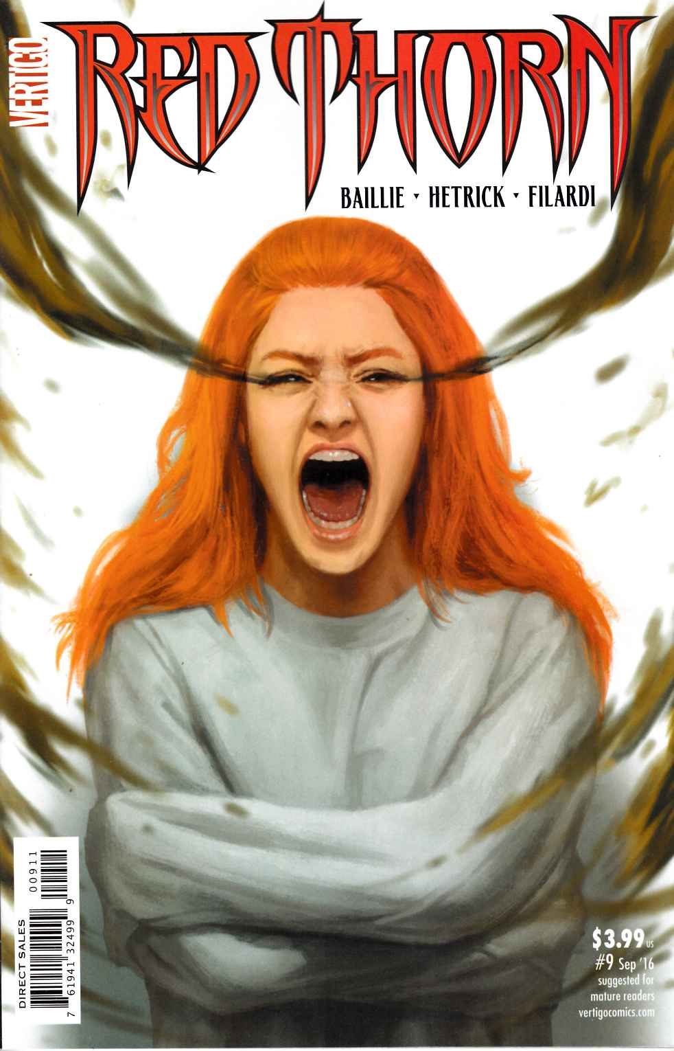 Red Thorn #9 [DC Comic] LARGE