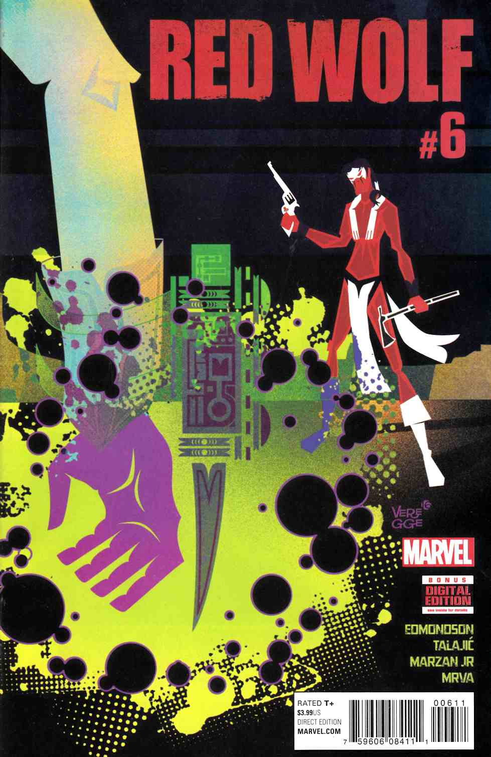Red Wolf #6 [Marvel Comic] LARGE