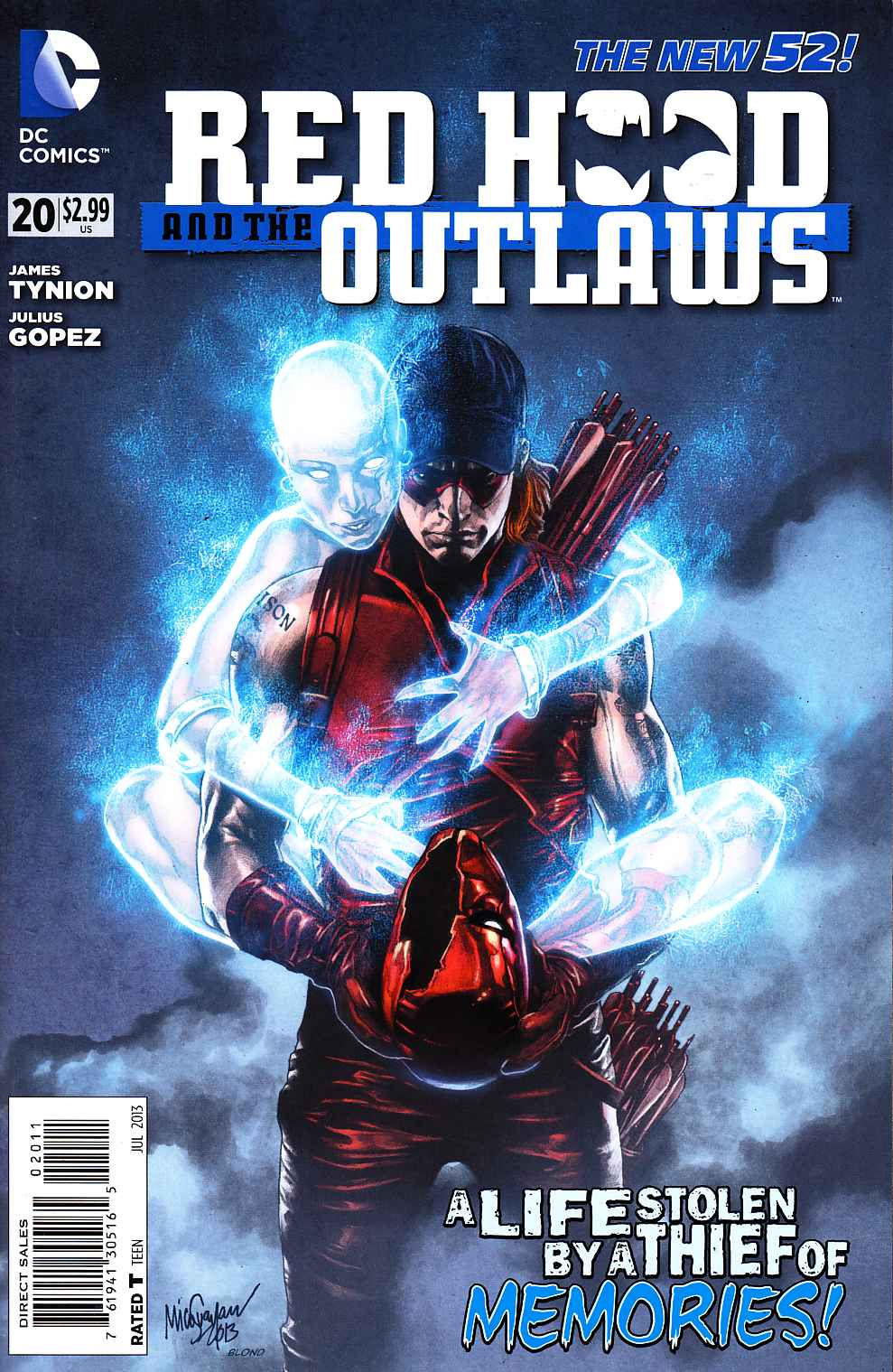 Red Hood and the Outlaws #20 [DC Comic] THUMBNAIL
