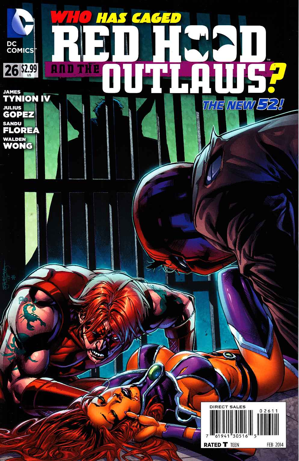 Red Hood and the Outlaws #26 [DC Comic] THUMBNAIL