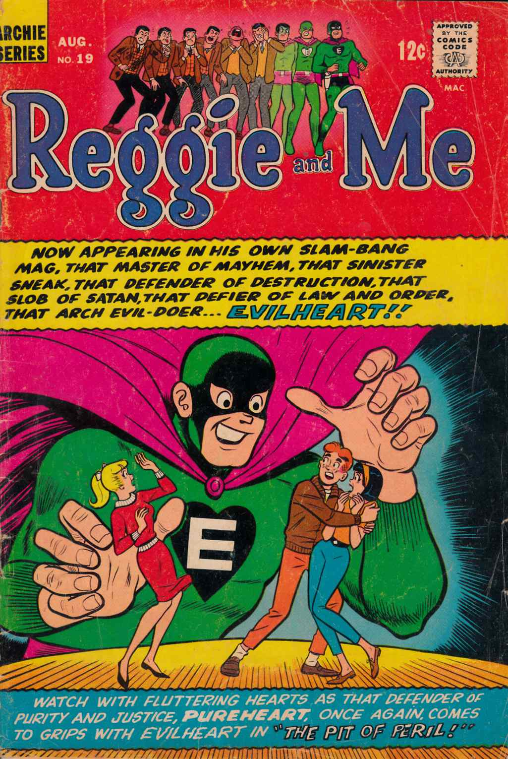 Reggie and Me #19 Good Plus (2.5) [Archie Comic]