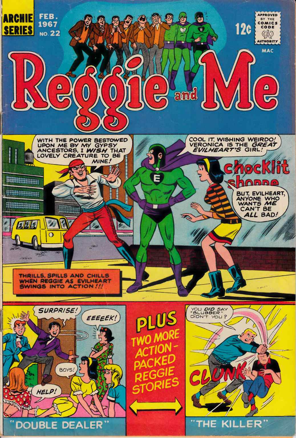 Reggie and Me #22 Good/Very Good (3.0) [Archie Comic]_THUMBNAIL