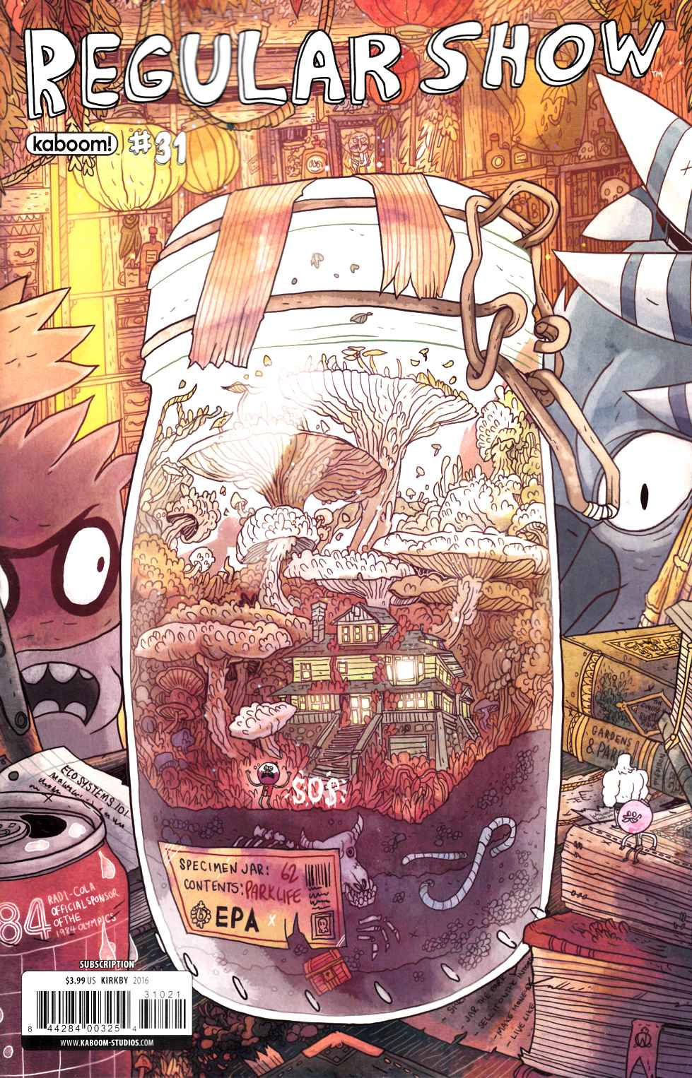Regular Show #31 Subscription Variant Cover [Boom Comic] LARGE