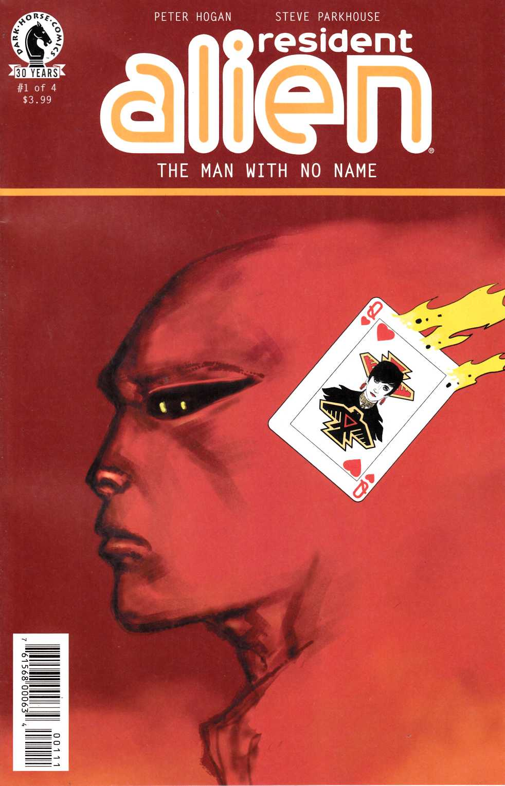 Resident Alien the Man With No Name #1 [Dark Horse Comic] THUMBNAIL