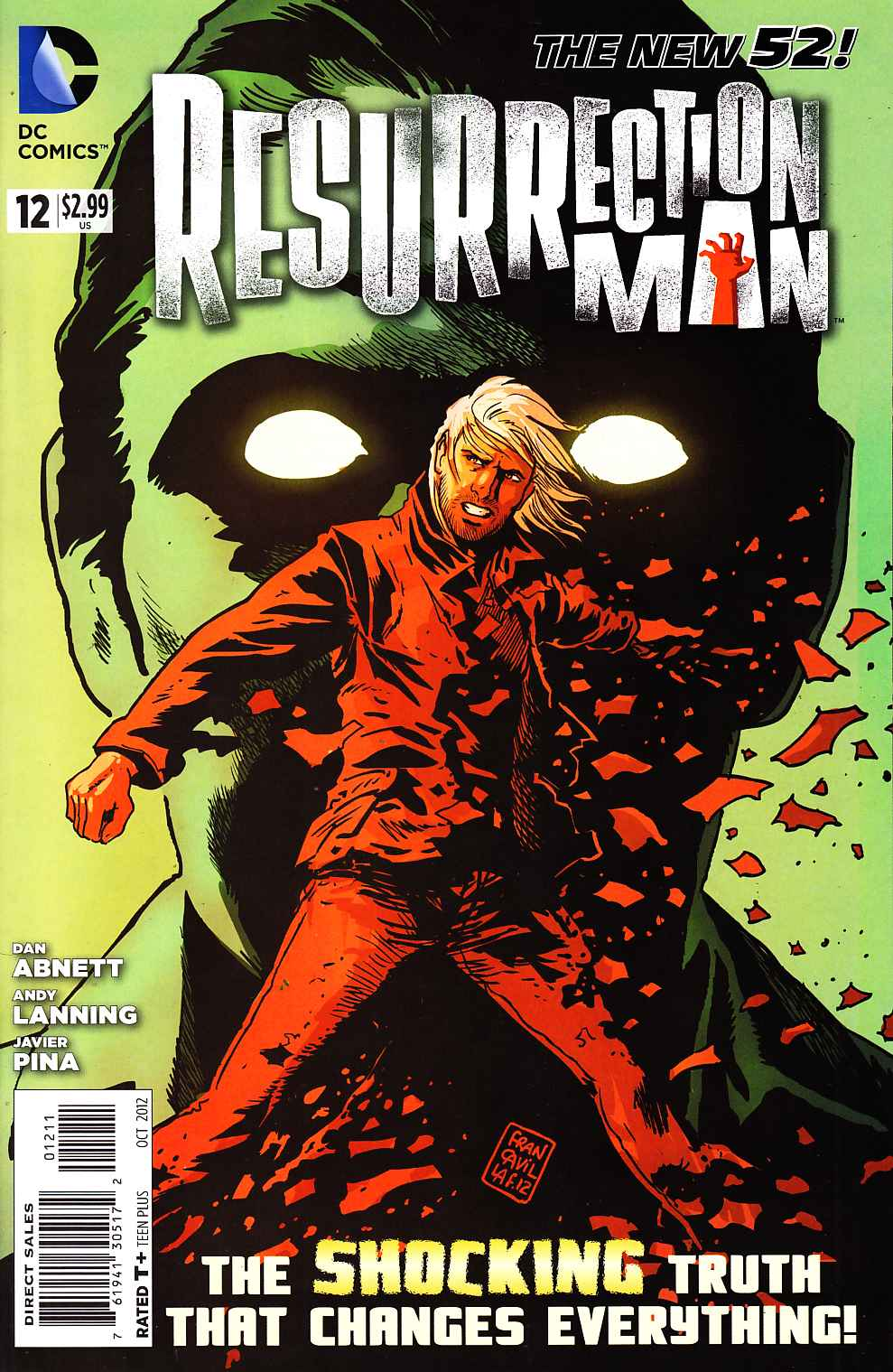 Resurrection Man #12 [DC Comic] THUMBNAIL