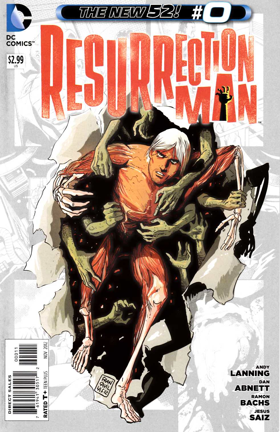 Resurrection Man #0 [DC Comic] THUMBNAIL