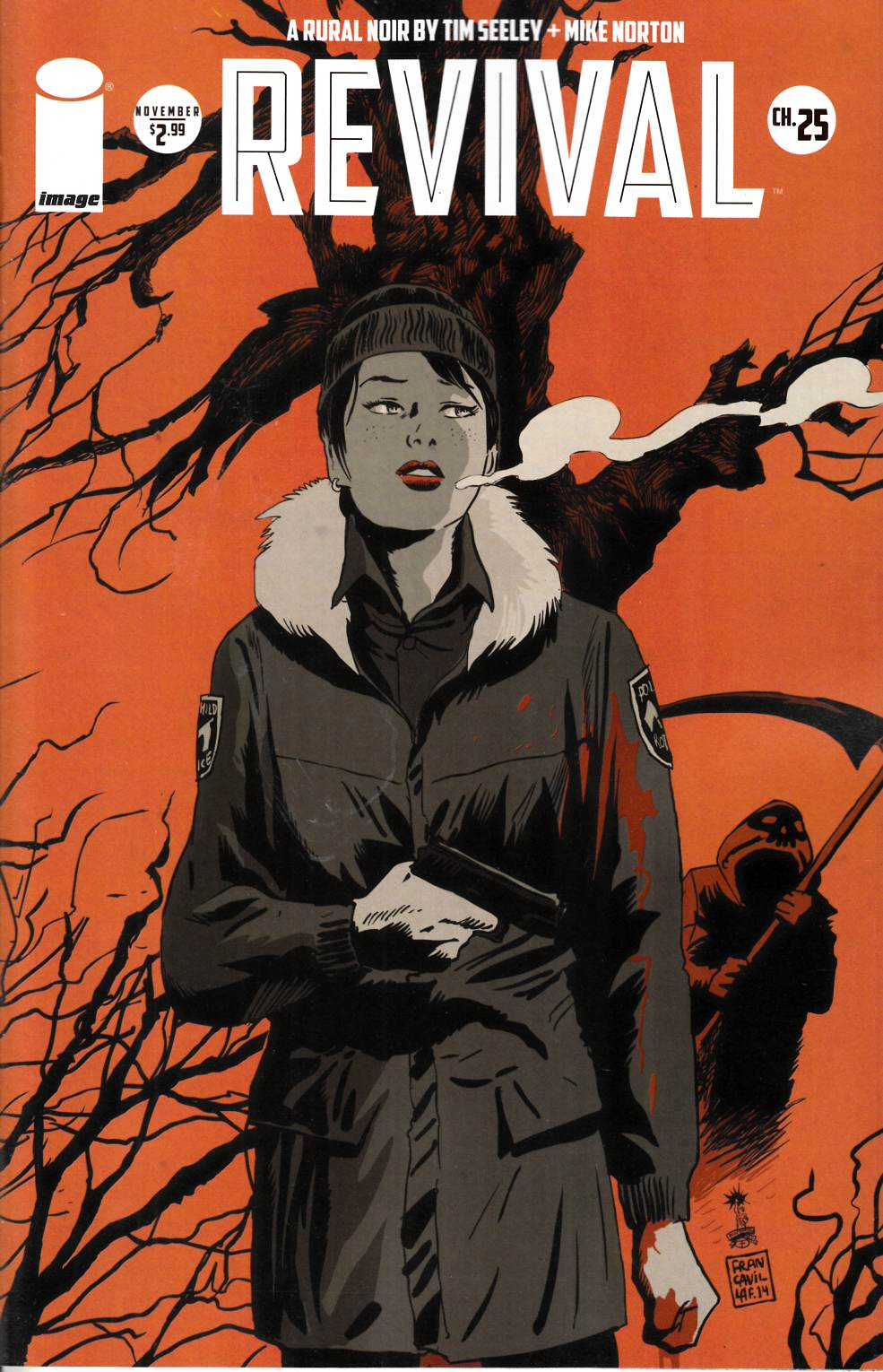 Revival #25 Cover B- Francavilla 25th Incentive [Image Comic] THUMBNAIL