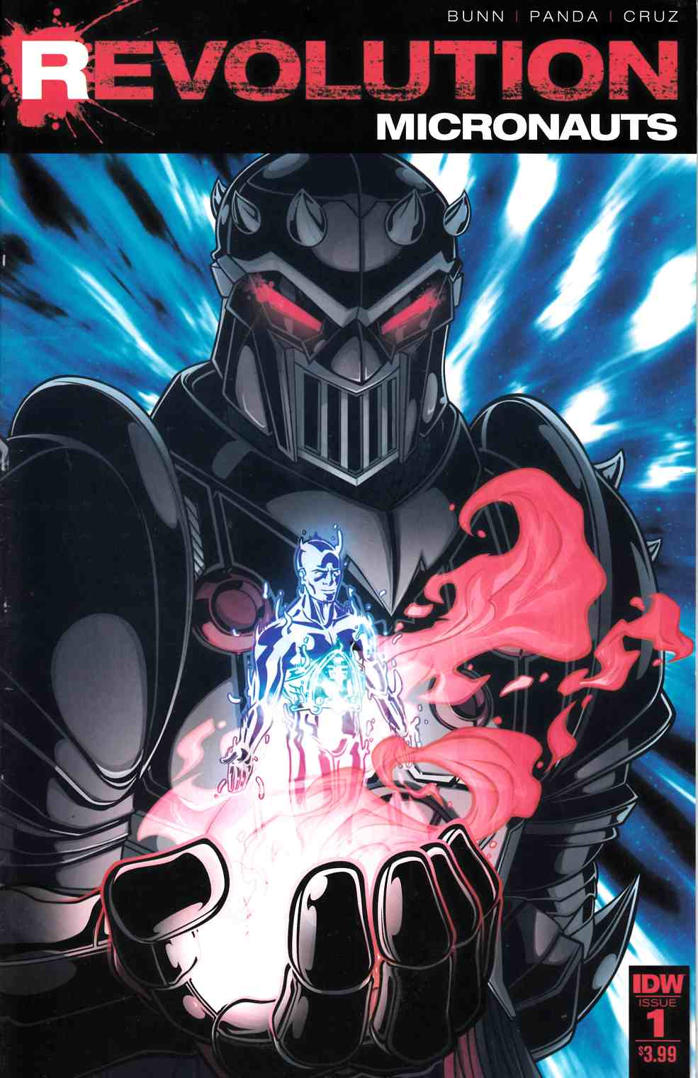 Micronauts Revolution #1 [IDW Comic] LARGE