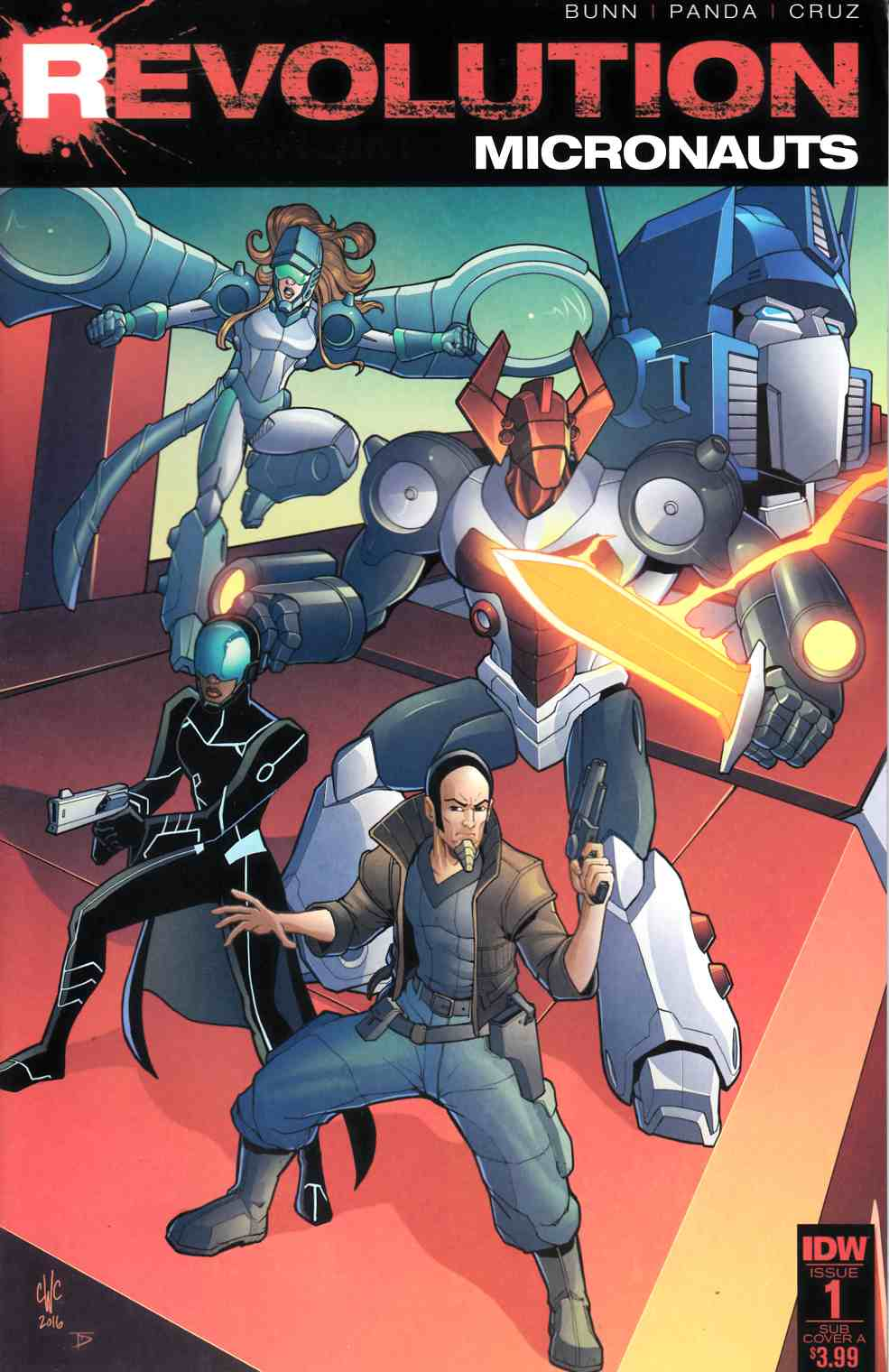 Micronauts Revolution #1 Subscription Cover [IDW Comic]