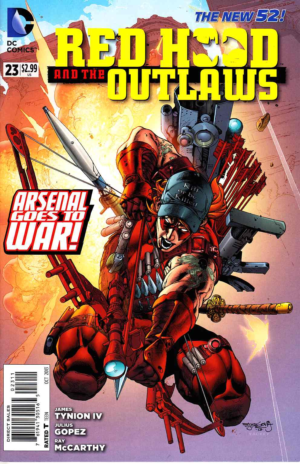 Red Hood and the Outlaws #23 [DC Comic] THUMBNAIL